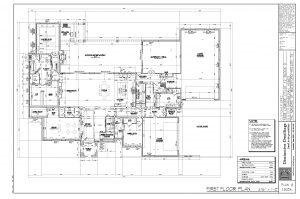 1608 First Floor Concept Plan